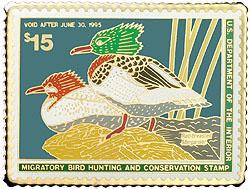 1996 1994 Federal Duck Cloisonne Medallion