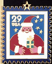 1994 Santa Claus Ornament with Pouch