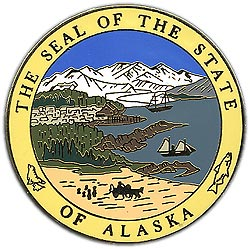 1995 Great Seals of the 50 States: Alaska Medallion
