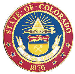 1995 Great Seals of the 50 States: Colorado Medallion
