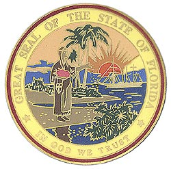 1995 Great Seals of the 50 States: Florida Medallion
