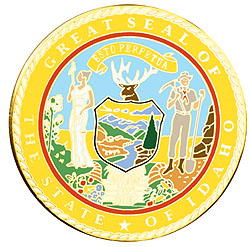 1995 Great Seals of the 50 States: Idaho Medallion