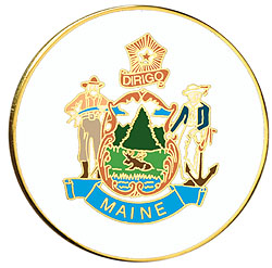 1995 Great Seals of the 50 States: Maine Medallion
