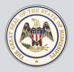 1995 Great Seals of the 50 States: Mississippi Medallion