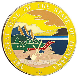 1995 Great Seals of the 50 States: Montana Medallion