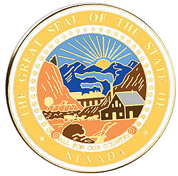 1995 Great Seals of the 50 States: Nevada Medallion