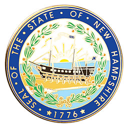 1995 Great Seals of the 50 States: New Hampshire Medallion