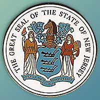 1995 Great Seals of the 50 States: New Jersey Medallion