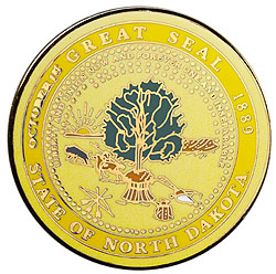 1995 Great Seals of the 50 States: North Dakota Medallion