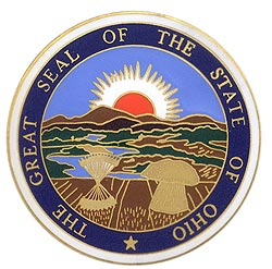 1995 Great Seals of the 50 States: Ohio Medallion
