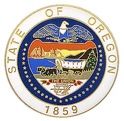 1995 Great Seals of the 50 States: Oregon Medallion