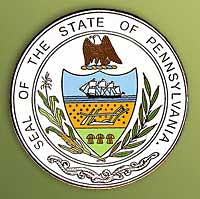 1995 Great Seals of the 50 States: Pennsylvania Medallion