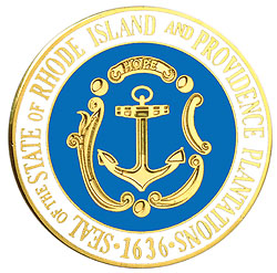 1995 Great Seals of the 50 States: Rhode Island Medallion