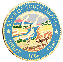 1995 Great Seals of the 50 States: South Dakota Medallion