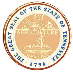 1995 Great Seals of the 50 States: Tennessee Medallion