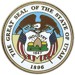 1995 Great Seals of the 50 States: Utah Medallion