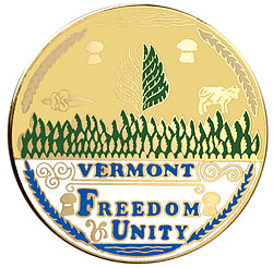 1995 Great Seals of the 50 States: Vermont Medallion