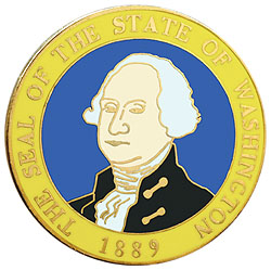 1995 Great Seals of the 50 States: Washington Medallion