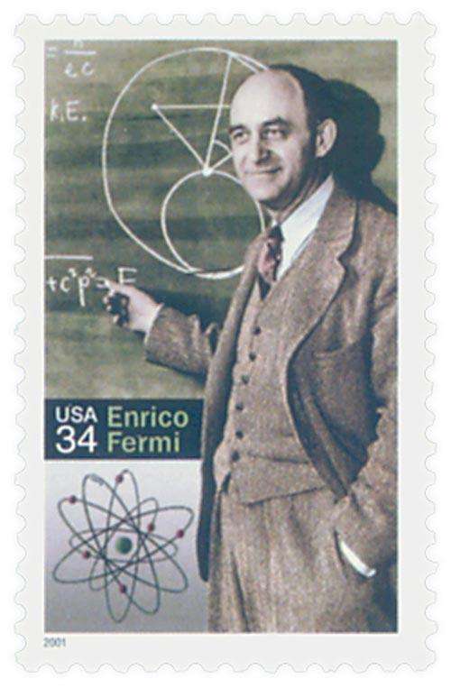 2001 34c Enrico Fermi