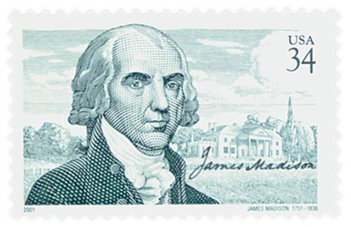 2001 34c James Madison