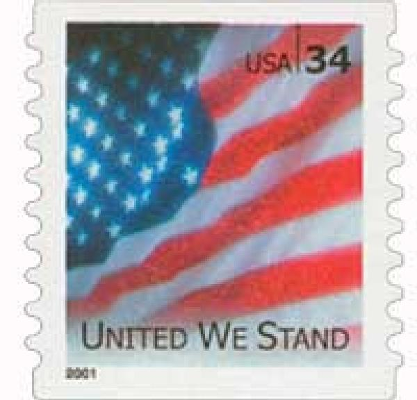 2001 34c United We Stand s/a coil