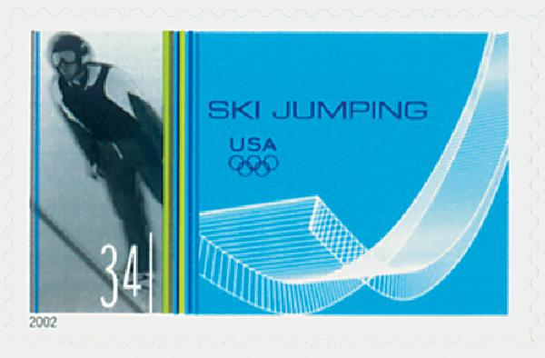 2002 34c Winter Olympics: Ski Jumping