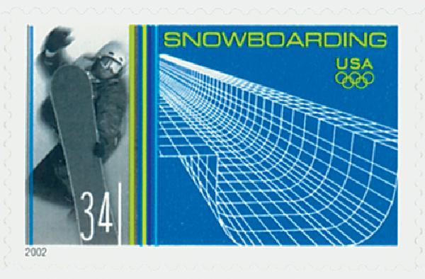 2002 34c Winter Olympics Snowboarding