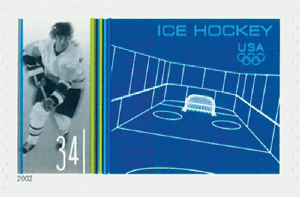 2002 34c Winter Olympics: Ice Hockey