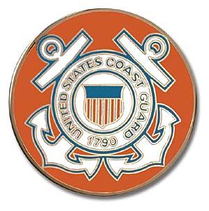 1996 Coast Guard Insignia Medallion in Folder