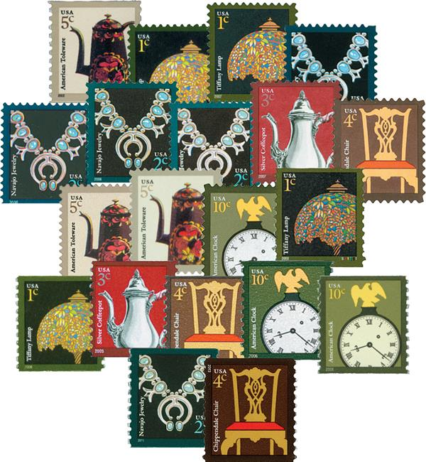 2002-14 American Design Series, Set of 20 stamps