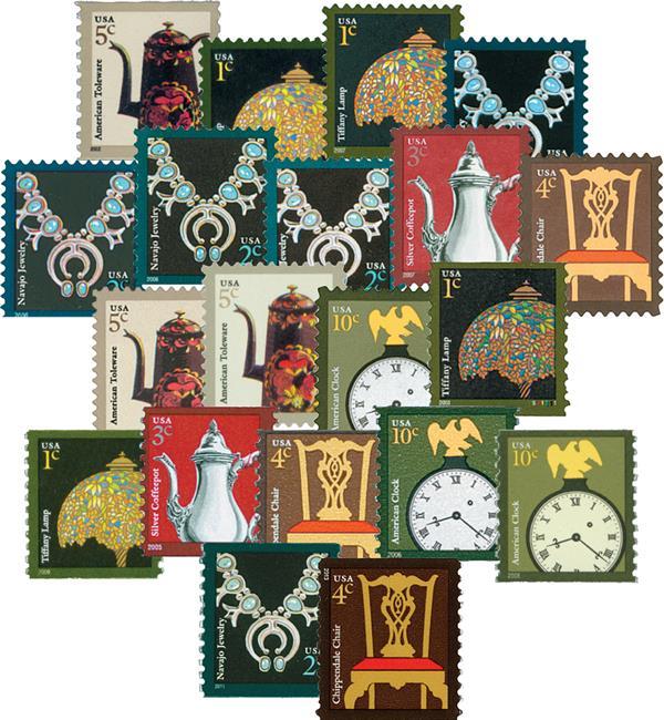 2002-14 American Design Series, Set of 20 stamps