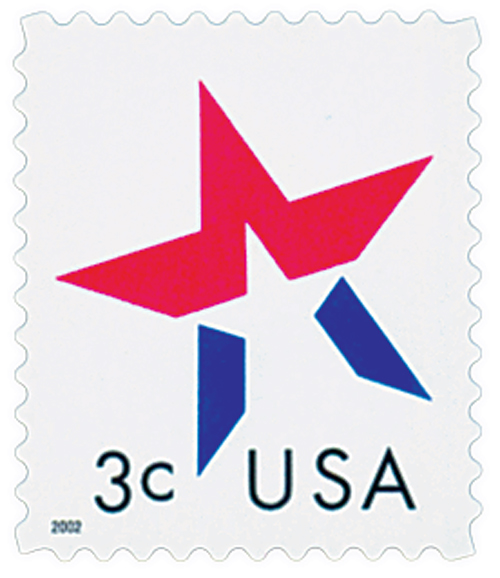 2002 3c Star, date on left