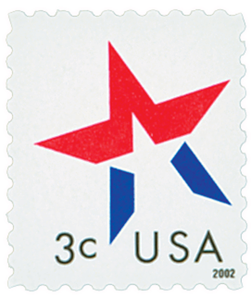 2002 3c Star, date on right