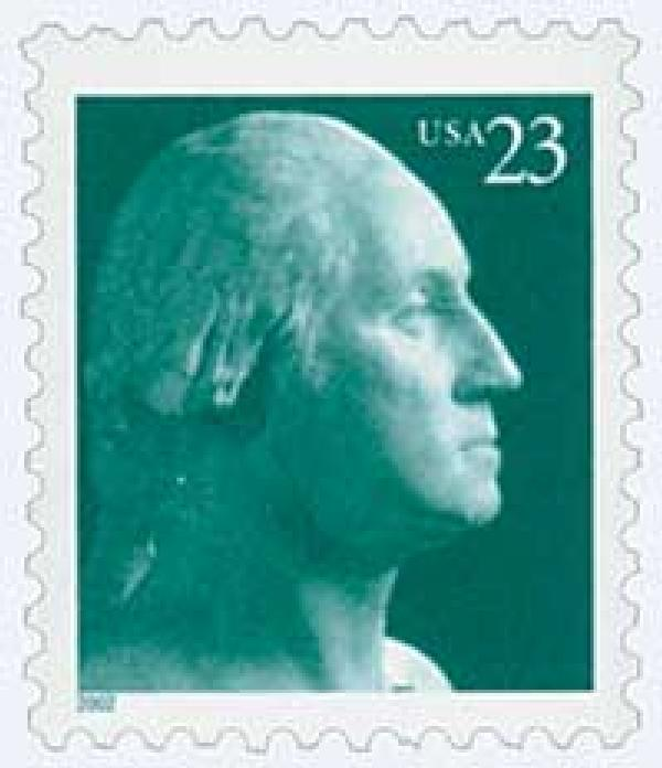 2002 23c George Washington