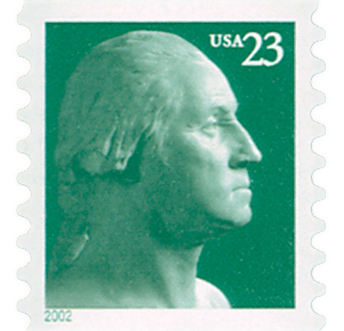 2002 23c George Washington, coil