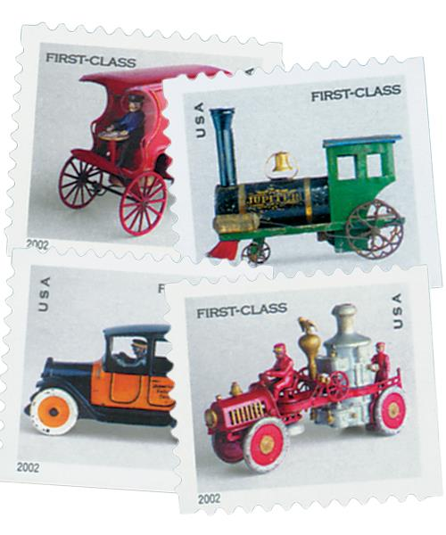 2002 Antique Toys, collection of 12 stamps