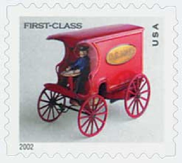 2002 US Mail Wagon non-denom. s/a
