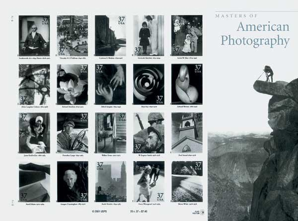 2002 37c Masters of American Photography, s/a