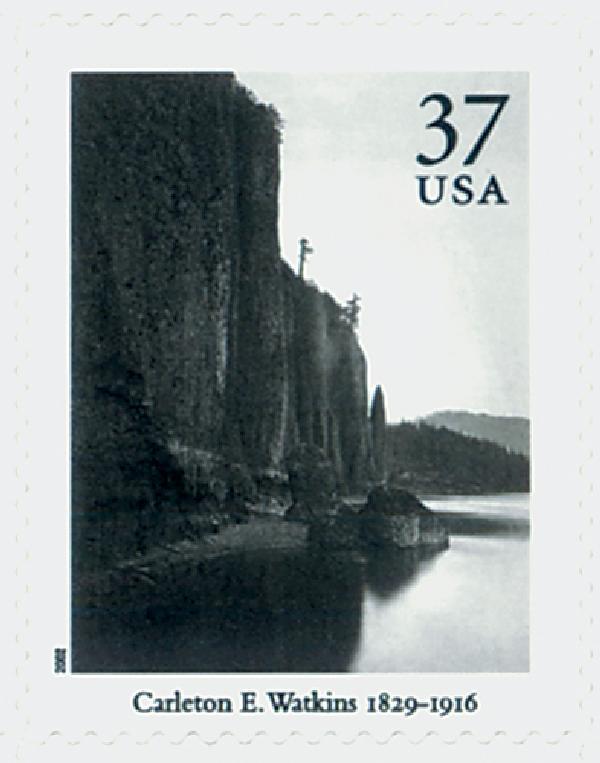 2002 37c Masters of American Photography: Carleton E. Watkins
