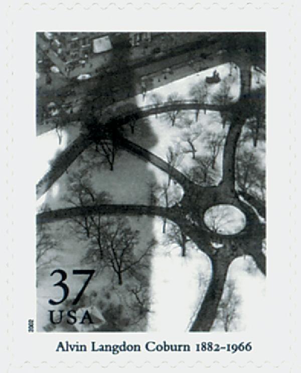 2002 37c Masters of American Photography: Alvin Langdon Coburn