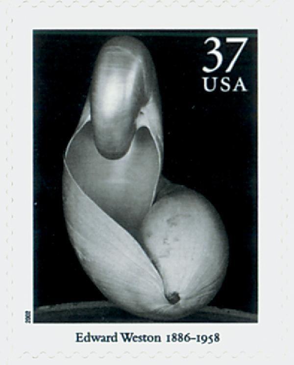 2002 37c Masters of American Photography: Edward Weston