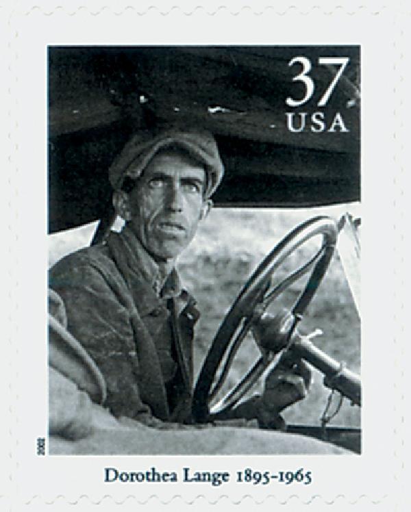 2002 37c Masters of American Photography: Dorothea Lange