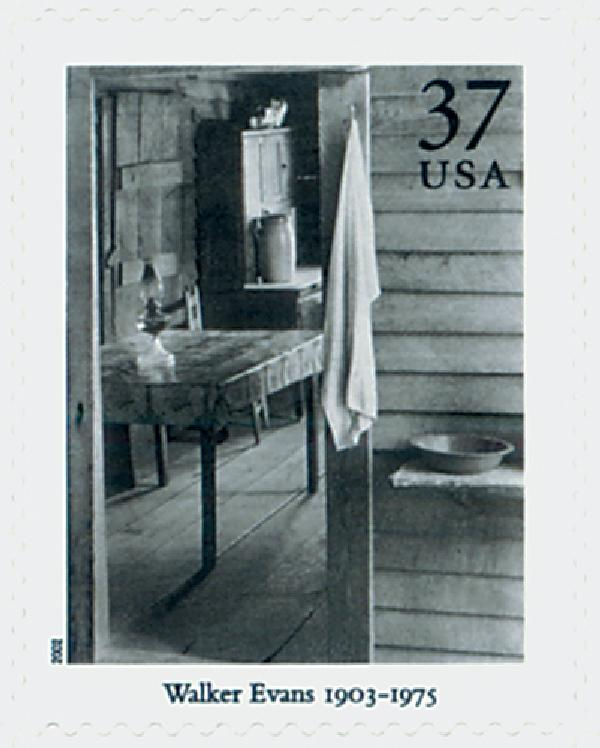 2002 37c Masters of American Photography: Walker Evans