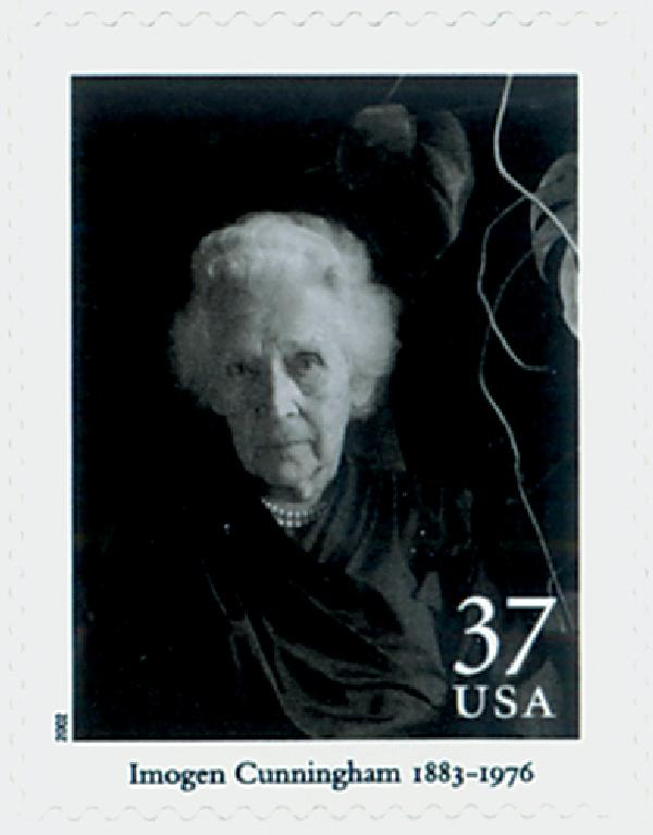 2002 37c Masters of American Photography: Imogen Cunningham