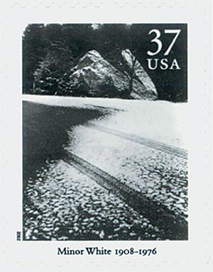 2002 37c Masters of American Photography: Minor White