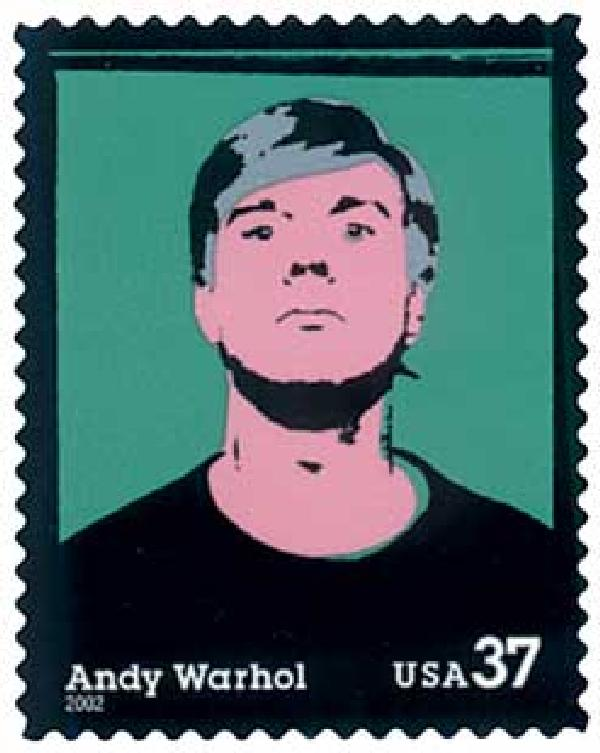 2002 37c Andy Warhol
