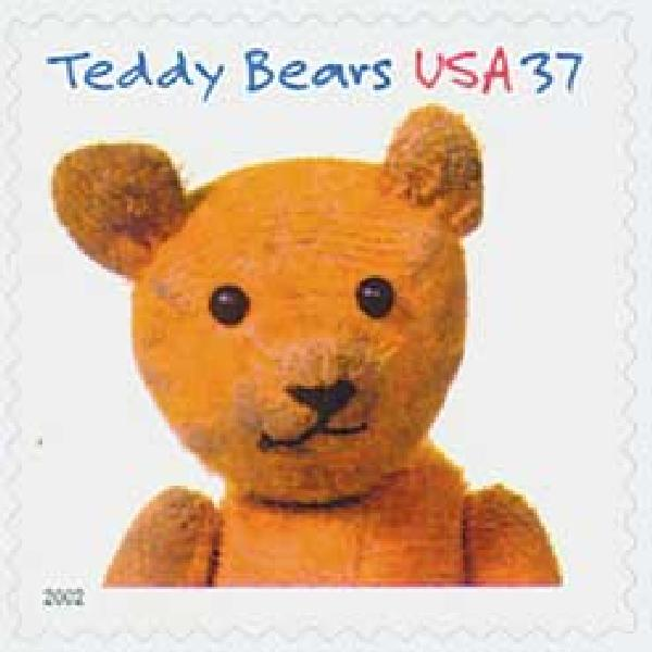 2002 37c Teddy Bears: Stick