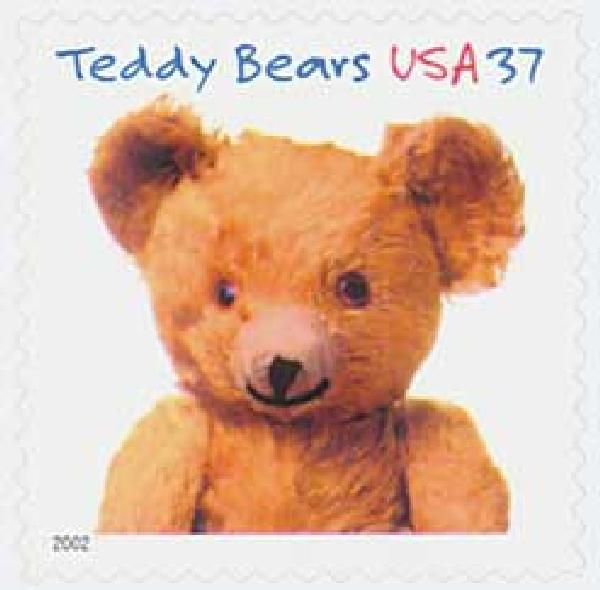 2002 37c Teddy Bears: Gund