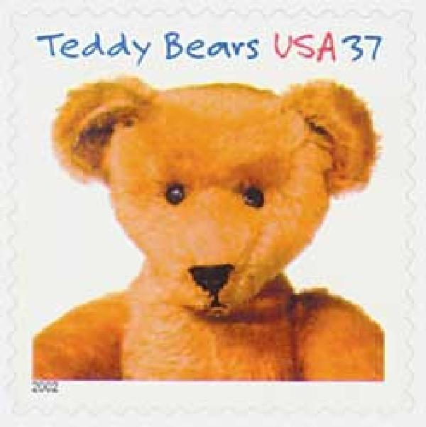 2002 37c Teddy Bears: Ideal