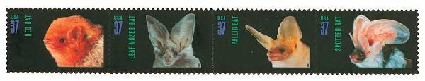 2002 37c American Bats